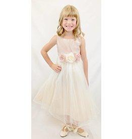 Dress, Satin Bodice w/Tulle Skirt