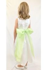 Dress, Organza Sash w/Flower