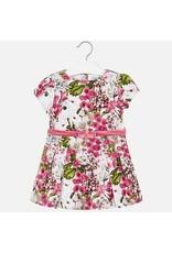 Dress, Velvet, Floral
