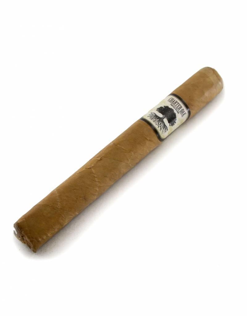 Foundation Cigar Company Charter Oak CT Shade Petite Corona BOX