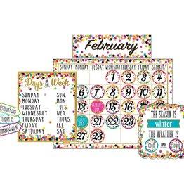 Confetti Confetti Calendar Bulletin Board Display