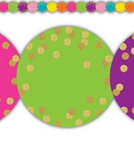 Confetti Confetti Circles Die-cut Border Trim