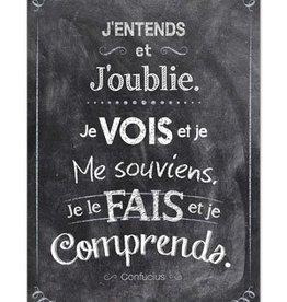 J'Entends-Poster