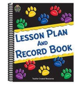 Paw Prints Lesson Plan & Record Book