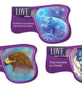 Seven Teachings Love poster (3PK)
