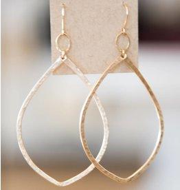 Ellen Hays Gold Hoop Earring