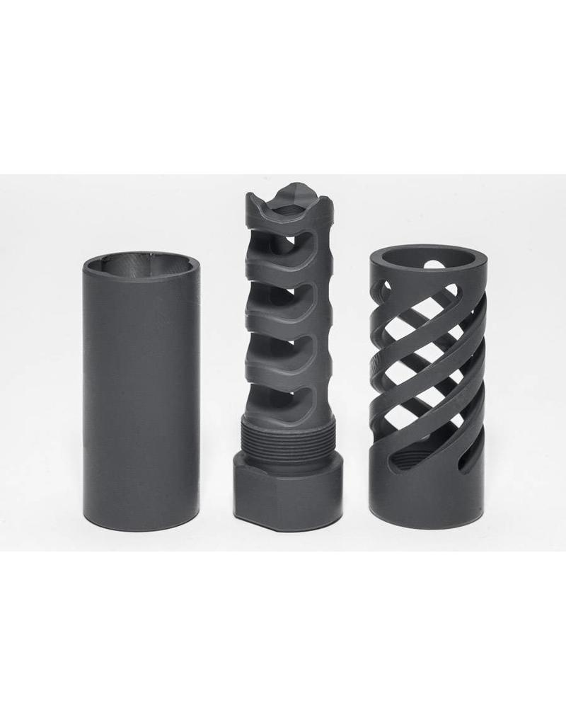 Directional Muzzle Brake - Large Caliber