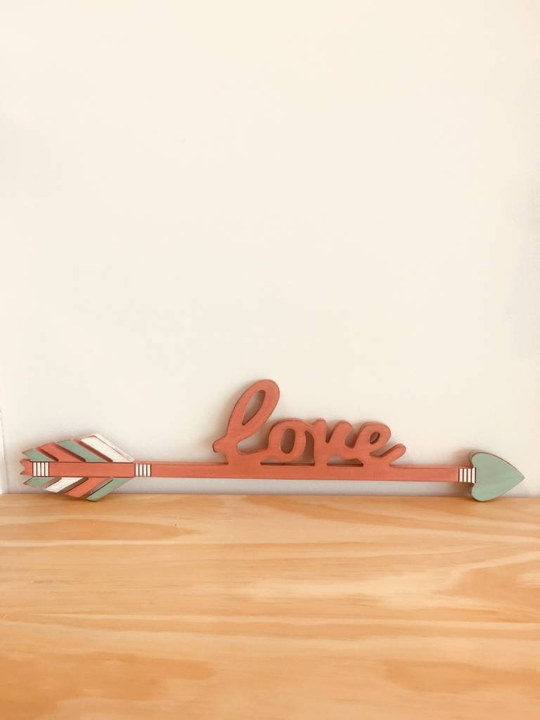 Primitives By Kathy Love Arrow Sign