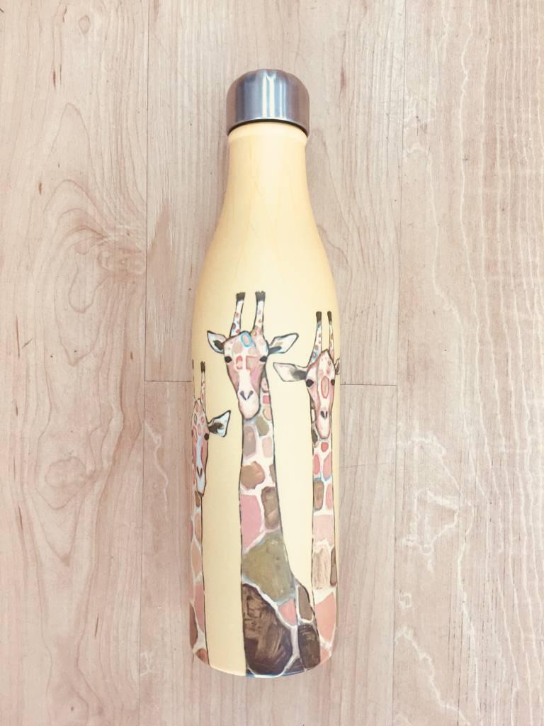 Studio Oh! Giraffe Water Bottle
