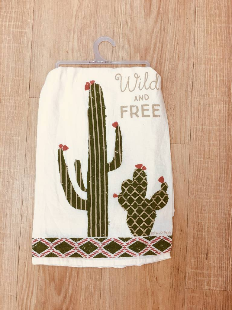 Primitives By Kathy Wild and Free Dishtowel
