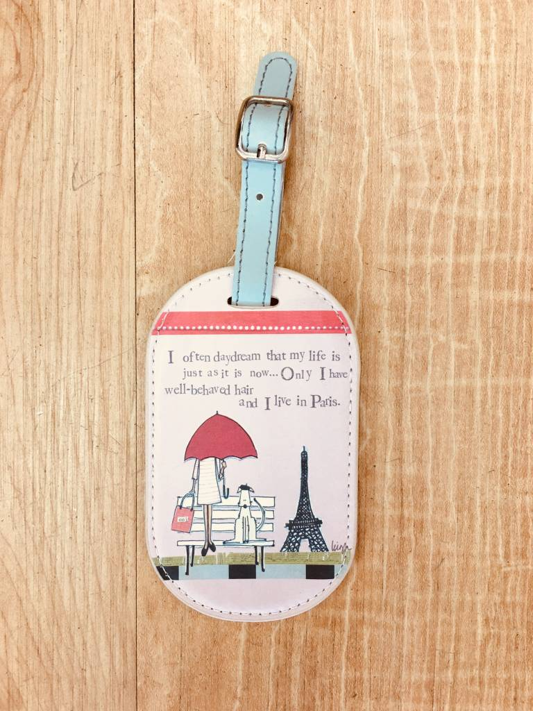 Curly Girl Curly Girl Luggage Tag