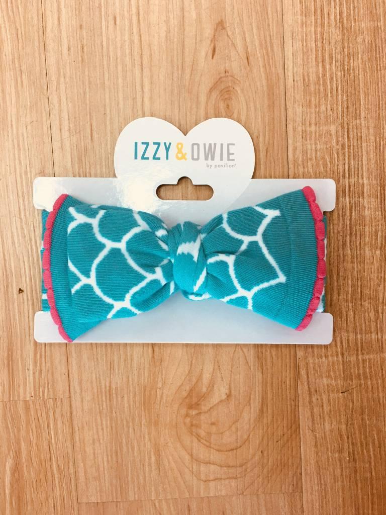 Izzy & Owie Knitted Headband (Mermaid)
