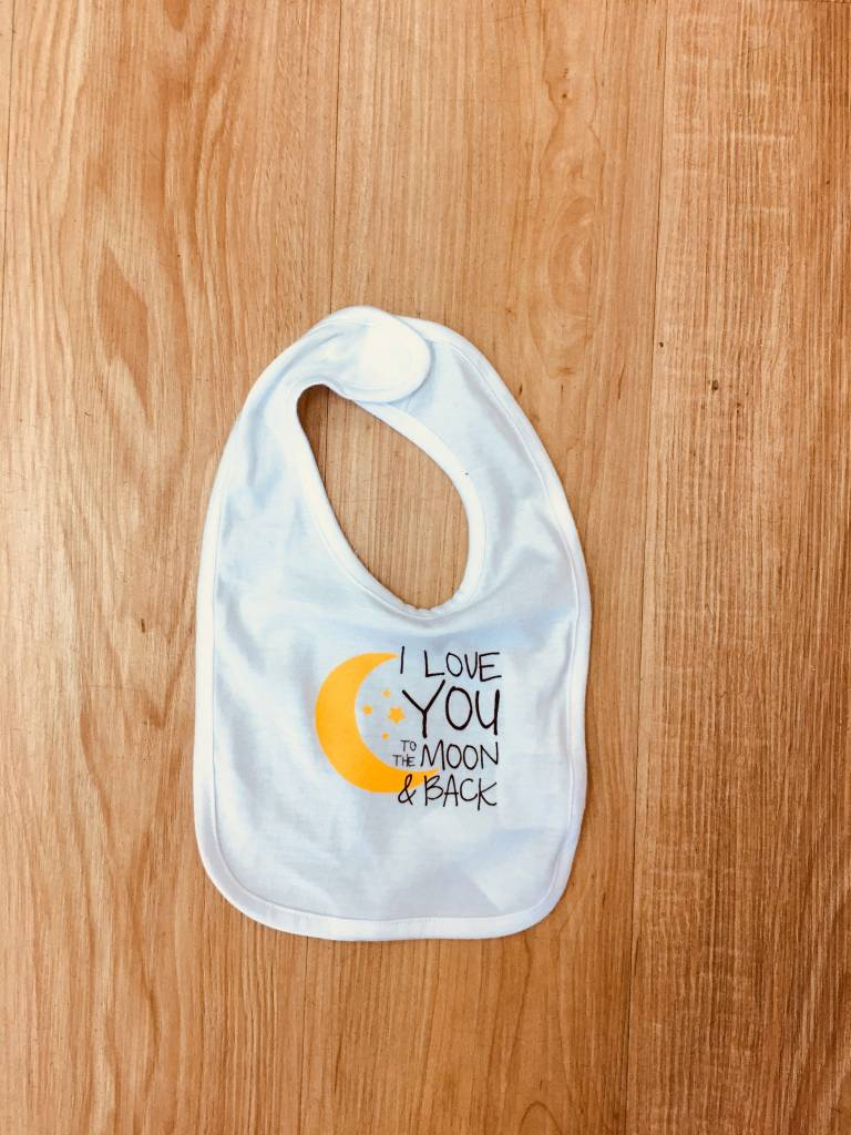 Love You to the Moon & Back Bib