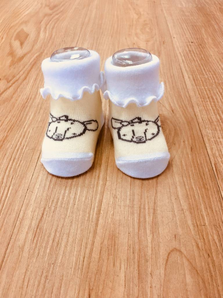 Izzy & Owie Infant Deer Socks 0-3 M