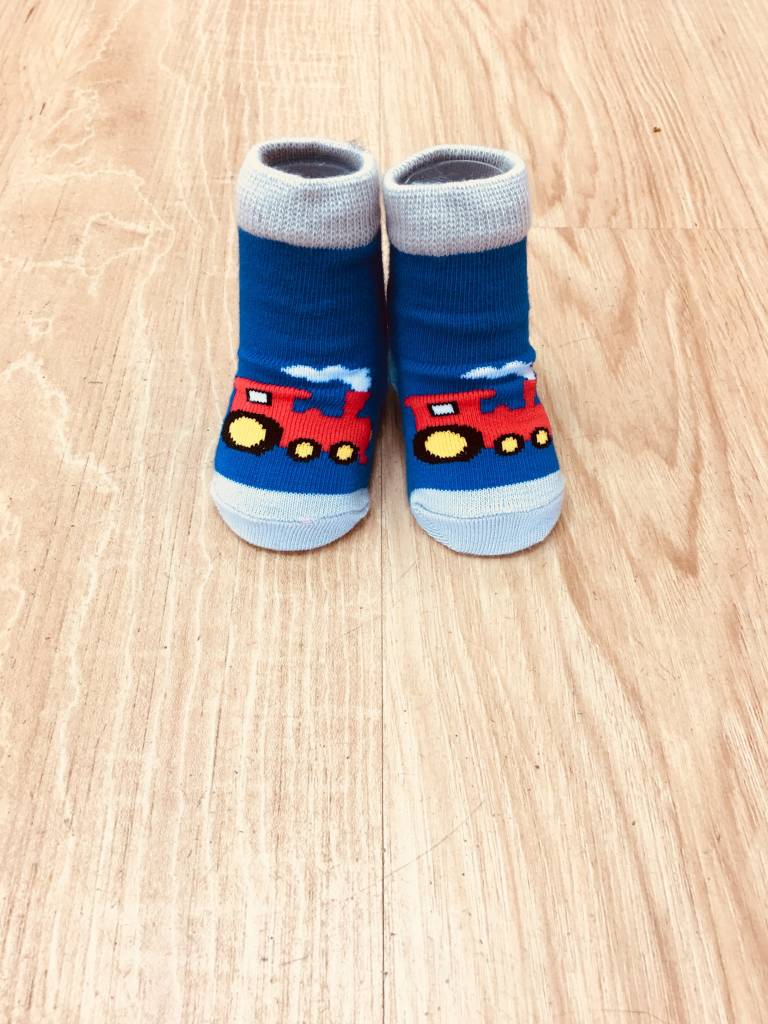 Izzy & Owie Train Sock