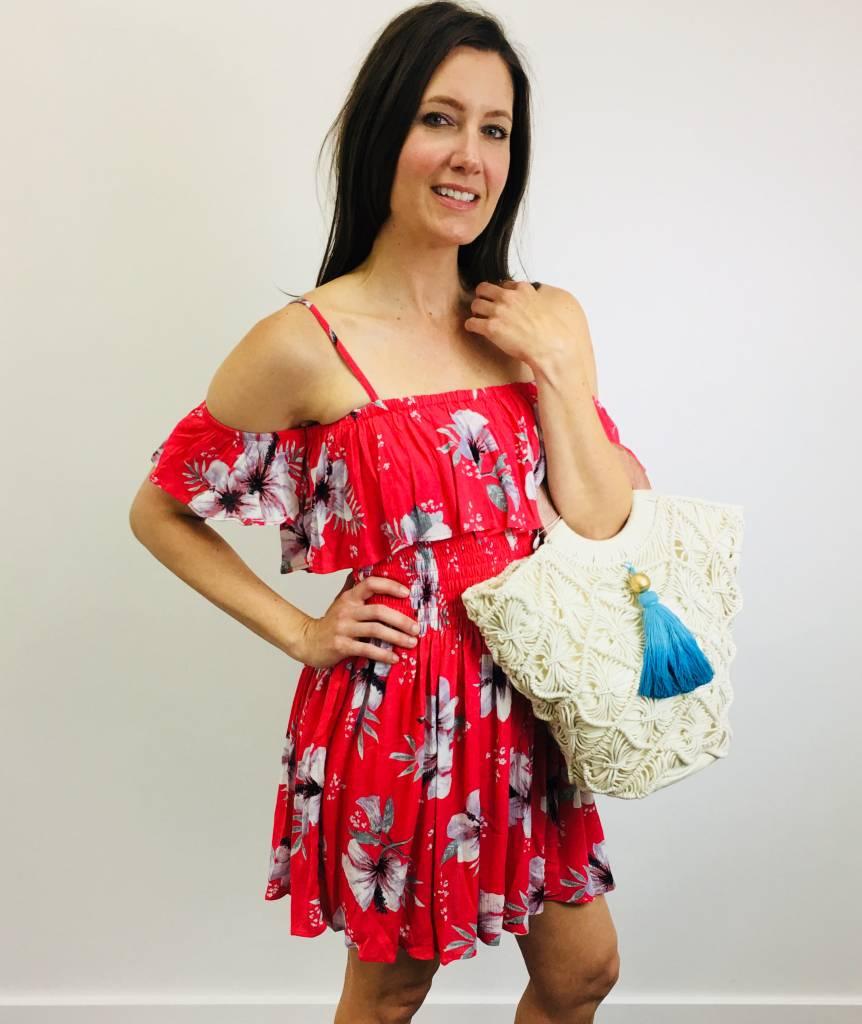Jack by BB Dakota Floral Winters Dress