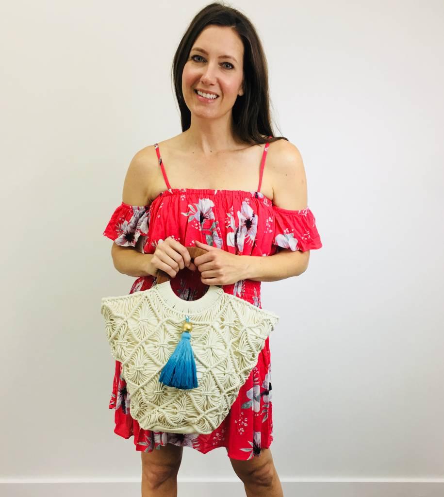 Shiraleah Crochet Tote