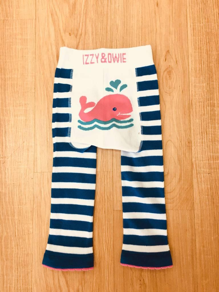 Izzy & Owie Whale Baby Legging