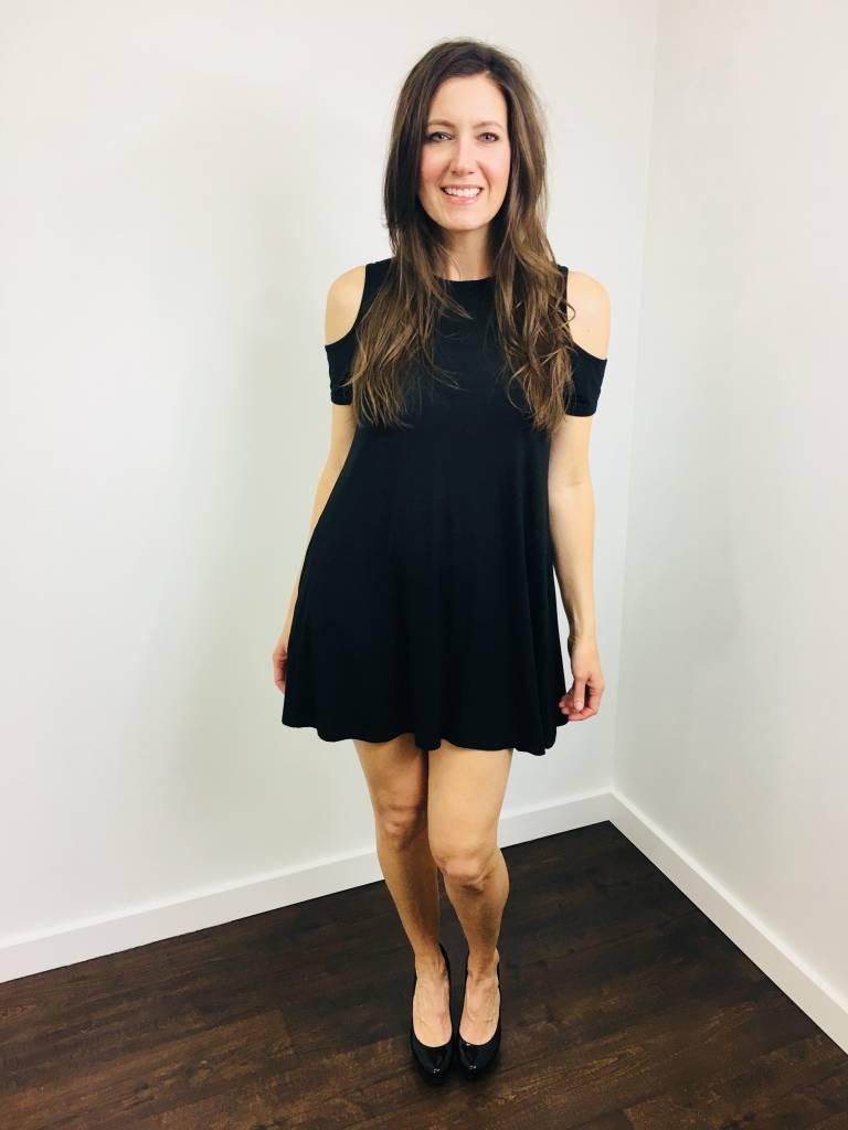 elan Jersey Little Black Dress