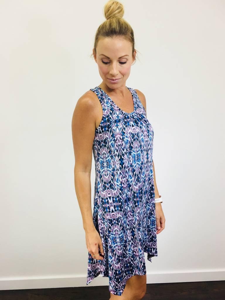 Neesha Razor Back Printed Dress