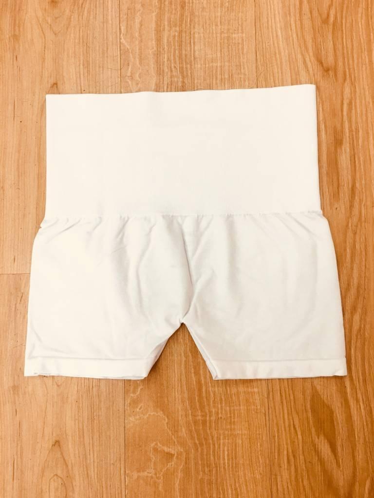 M Rena Control Top Short White