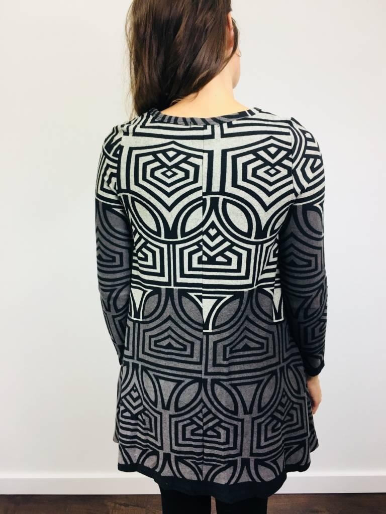 Papillon Geo Design ALine Dress