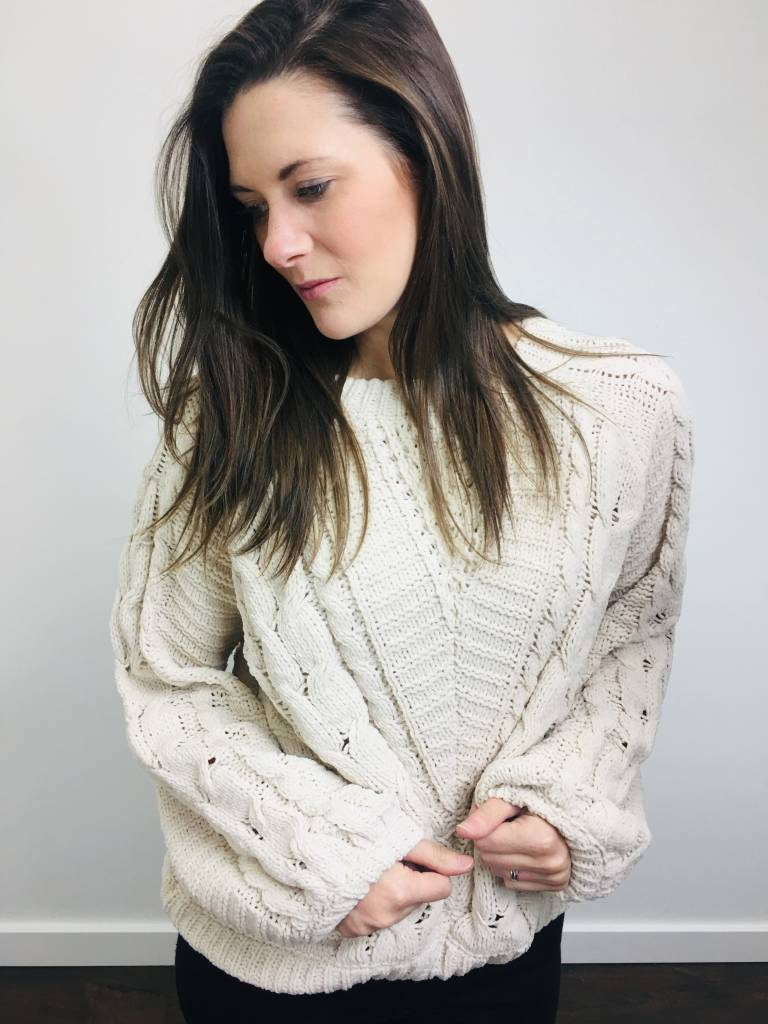 Dex Cable Knit Sweater