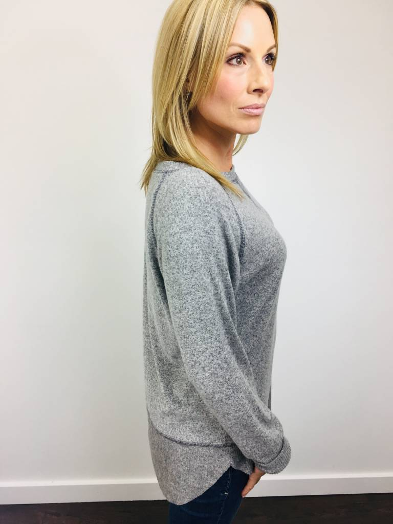 KLD Brushed Jersey Sweater