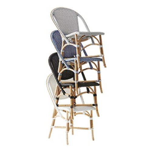 Affaire Sofie Chair, black with white dots