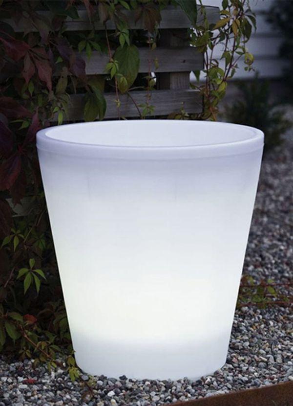 White Line Beauty PE Metal Floor Lamp Round shape