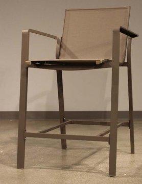 White Line Vargas indoor / Outdoor Aluminium Barstool