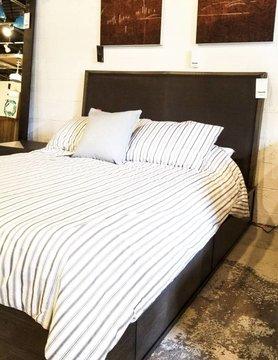 Casana Madox Bed Gray Oak