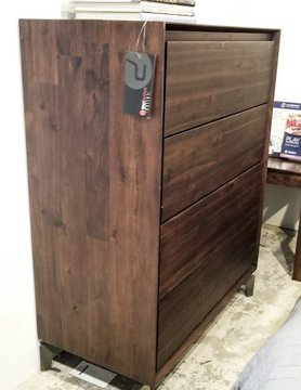 Zuo Modern Perth High Chest Chestnut