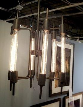 Zuo Modern Gisborne Ceiling Lamp Rust