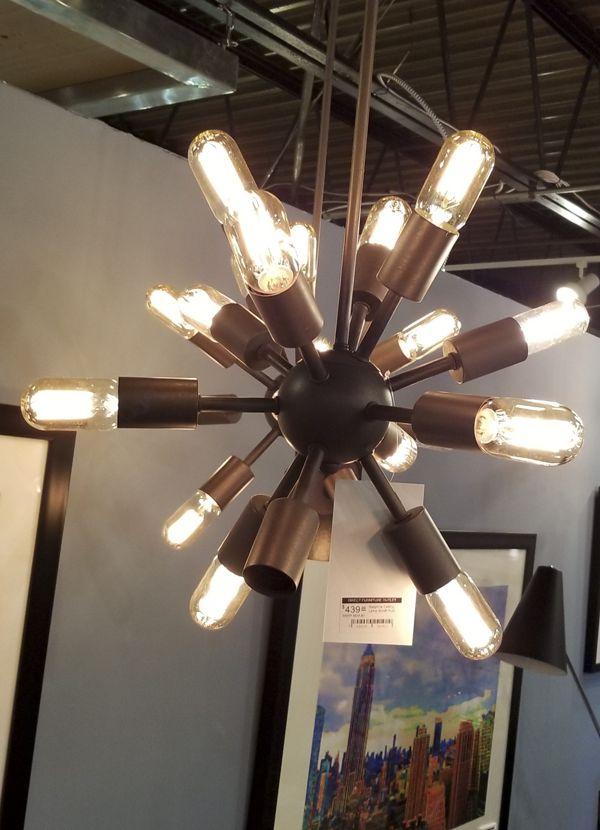 Zuo Modern Sapphire Ceiling Lamp Small Rust
