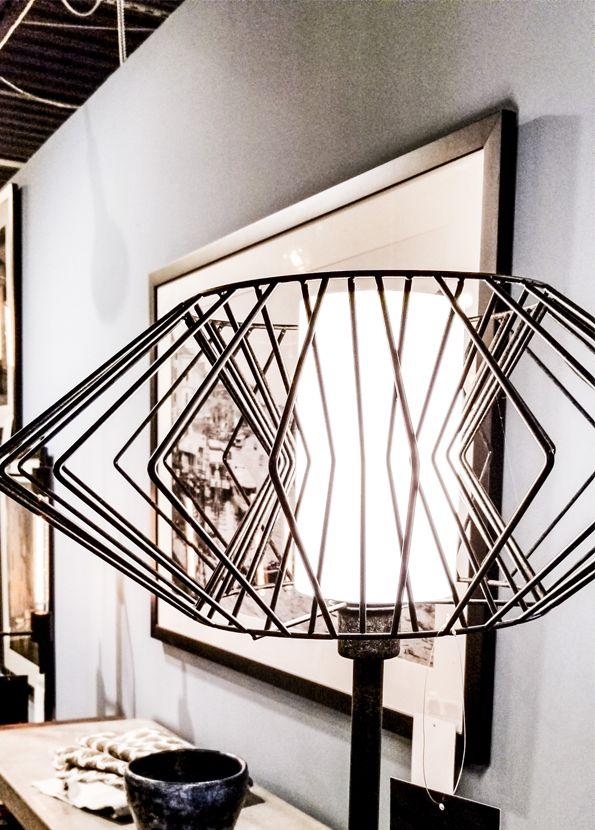 Zuo Modern Tumble Floor Lamp Rust
