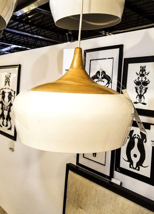 Nuevo Living LIAM Pendant Lamp White Metal CA