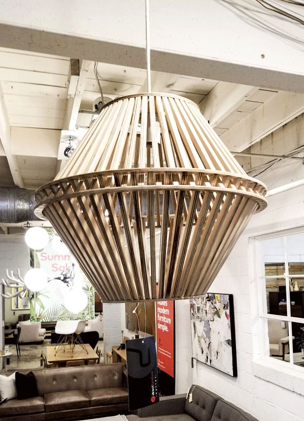 Incroyable SINGLE BULB PENDANT LAMP ASH HEXAGON