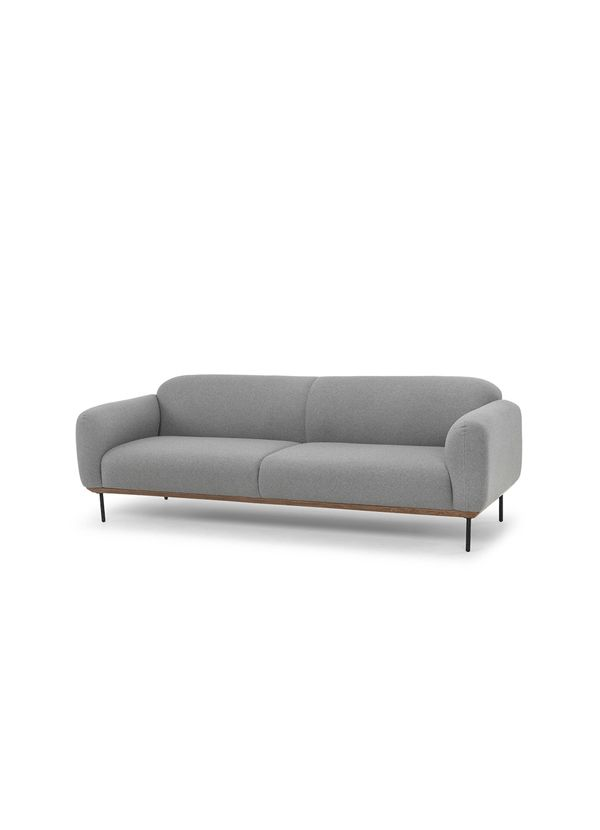 BENSON SOFA LIGHT GREY SEAT FABRIC BLEND