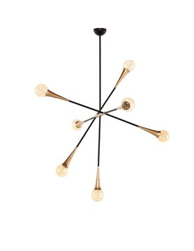 Nuevo Living TRISTAN PENDANT LIGHT BRUSHED BRASS