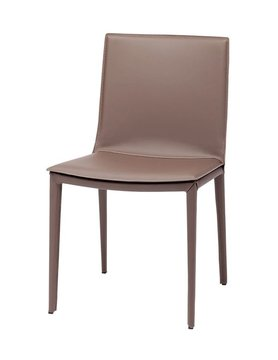 Nuevo Living PALMA - DINING CHAIR MINK  LEATHER