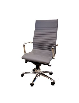 Tall Back Gray Office Chair
