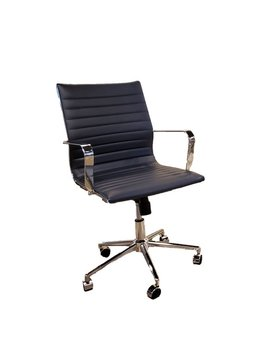 Dark Navy Blue Office Chair