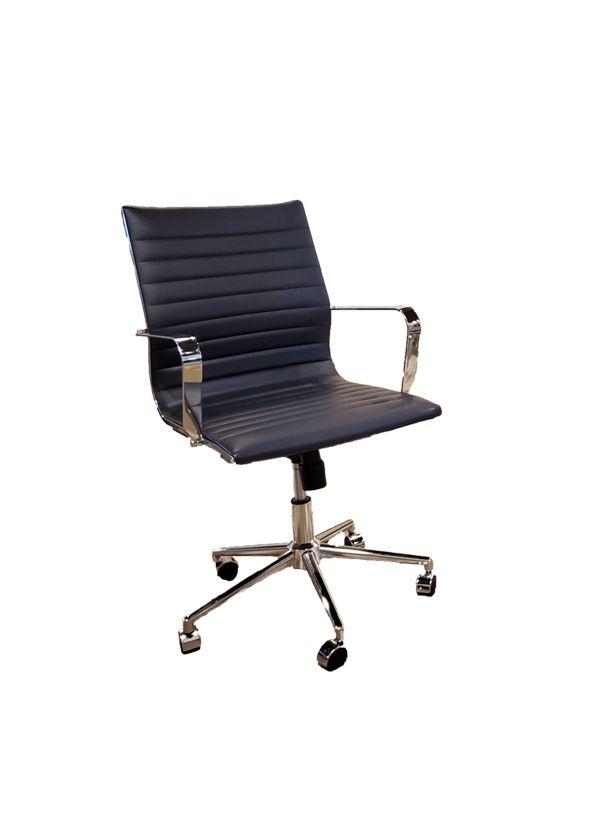 Dark Navy Blue Office Chair
