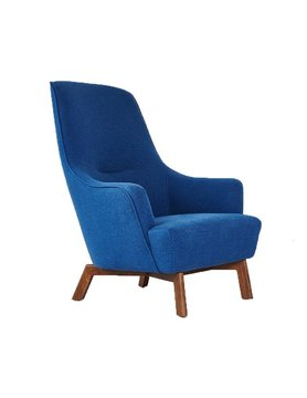 Gus Modern Hilary Chair Stockholm Cobalt
