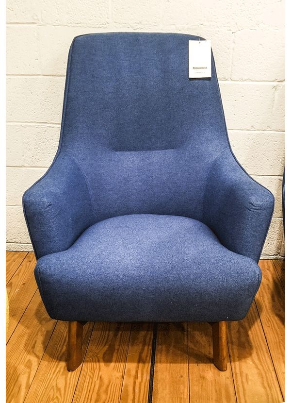 Gus Modern Hilary Chair Stockholm Cobalt