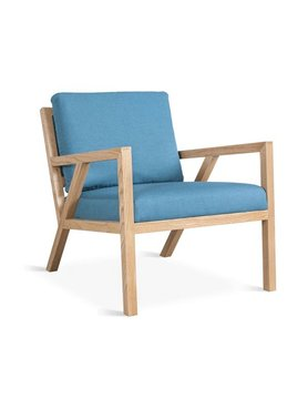 Gus Modern Truss Lounge Chair Muskoka Surf Ash Natural