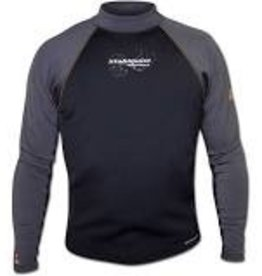 Stohlquist 1mm CoreHEATER Shirt, Men's, Black/Gray
