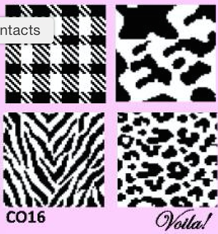 BLACK AND WHITE COASTER KIT