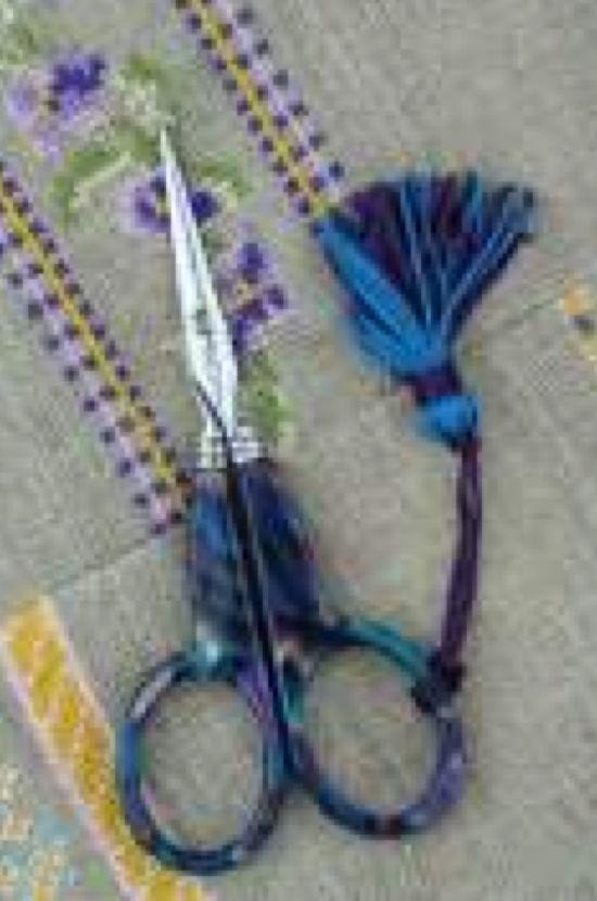 Sajou Blue Onyx Scissors